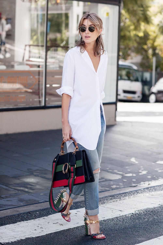 Gucci-Dionysus-Levis-501s-White-boyfriend-shirt