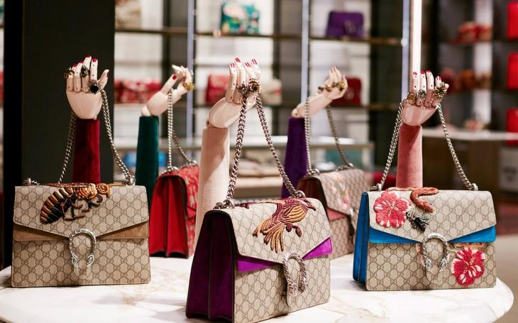 Gucci e suas bolsas desejo da temporada