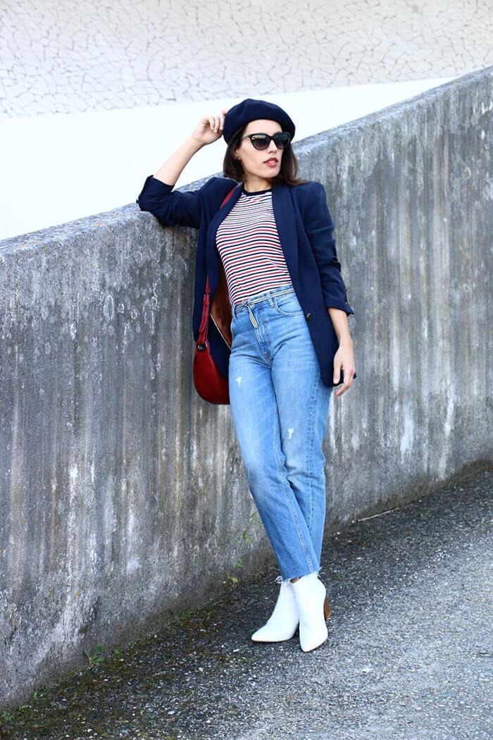 BeretHat_stripestop_blazer_momjeans_whiteboots_redbag_streetstyle_fashion_style_trends-16