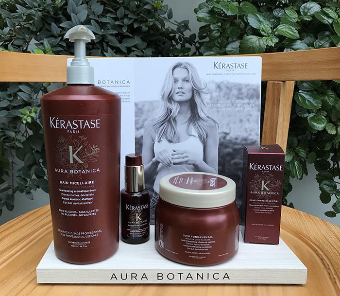Aura Botanica te dá mais brilho pro cabelo viu?