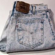 80's Revival via Acid jeans