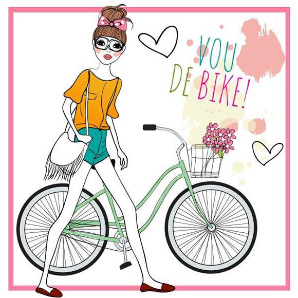 Vamos de bike!