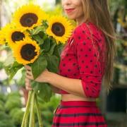 Mix com as cores (e muitas flores!!!)