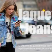 Peças mais leves nas produções com jaquetas jeans