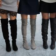 21 idéias de como usar Over Knee Boots