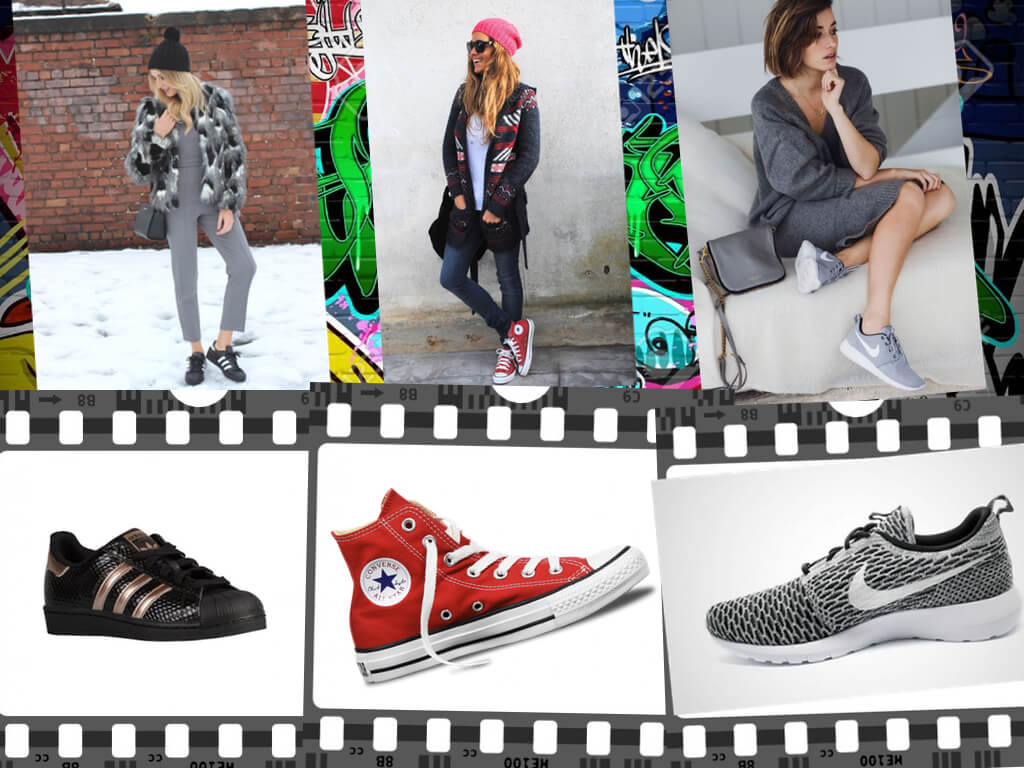 como usar sneakers