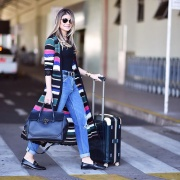 23 formas de arrasar no look do aeroporto!