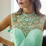 Couturier e seus lindos vestidos de festa