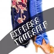 Express Yourself pelo seu jeans!