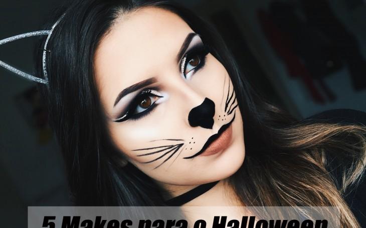 5 makes bacanas para o Halloween
