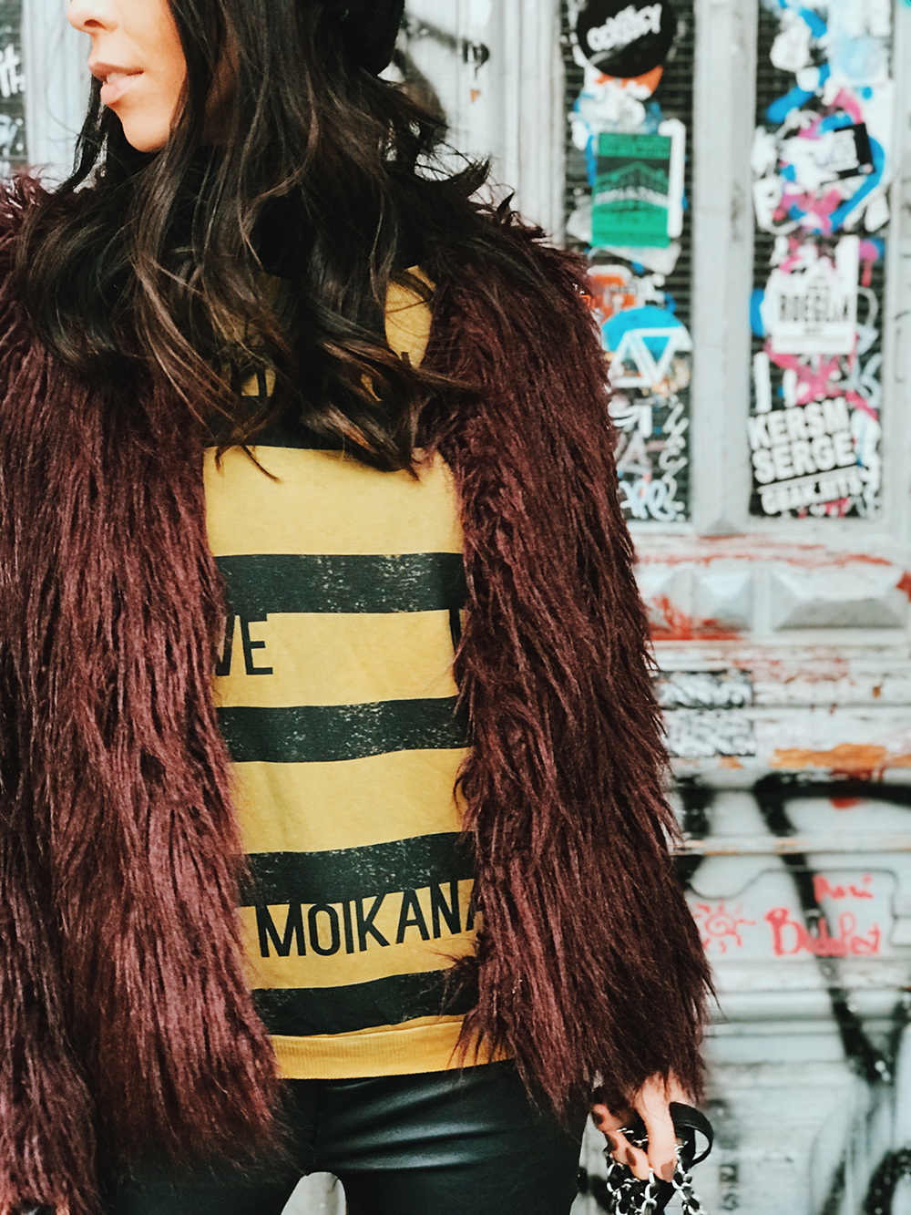 Levando a Moikana pra passear em Berlim
