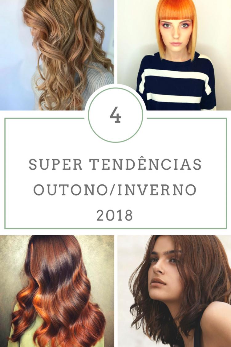 Tendências de cabelo para o inverno de 2018