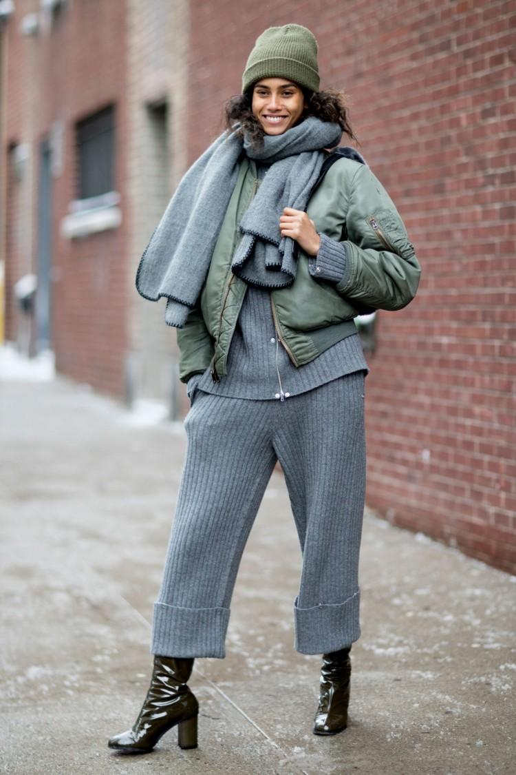 13 inspirações de looks para dias de muito frio