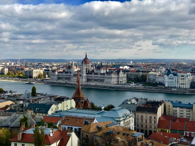 Um pulo em Budapeste